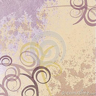 Purple faded swirl background