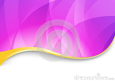 Purple flare - abstract wavy background