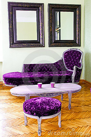 Free Purple Furniture Royalty Free Stock Images - 10530019