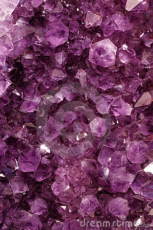 Purple Gems Stock Image Image 18793091