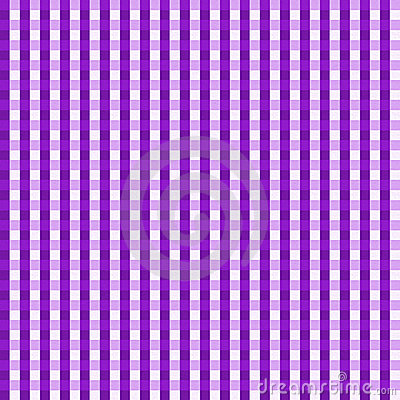 Purple Gingham Seamless Background