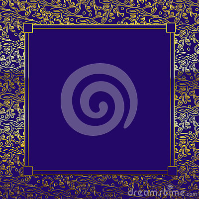 Free Purple/Gold Decorative Background Stock Images - 54307894