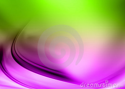 Purple green abstract