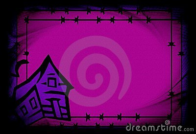 Purple hallowen background