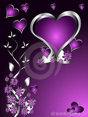 purple love valentine day - photo #9