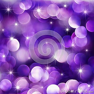 Free Purple Holiday Lights Stock Photo - 14688960