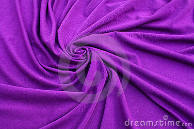 Purple jersey fabric