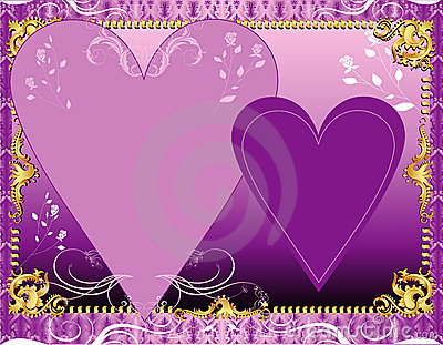 Purple Lavender Template
