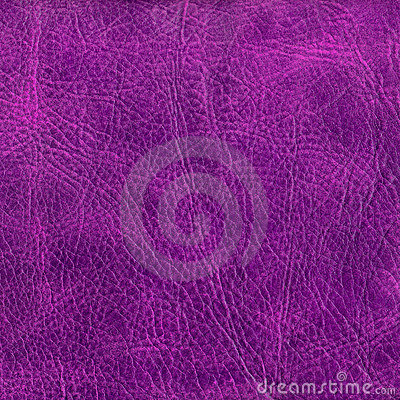 Purple leather texture to background