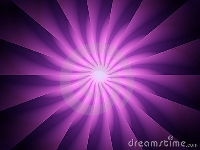 Purple Light Rays Spiral Twirl
