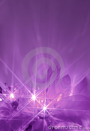 Free Purple Lights Royalty Free Stock Photo - 3147525