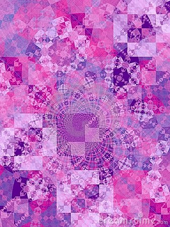 Purple Mosaic Squares Texture