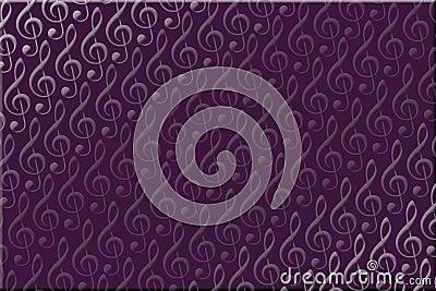 Purple Music Background