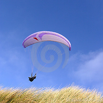 Free Purple Paraglider Stock Photos - 3850293