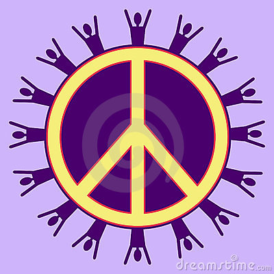 Purple Peaceful People