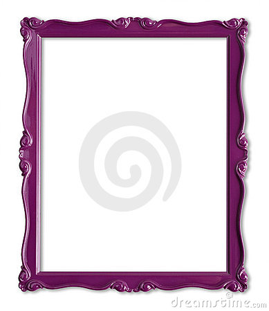 Free Purple Picture Frame Royalty Free Stock Photo - 9383385
