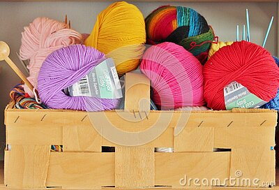 Purple Pink Yellow Red And Multi Colored Yarn Roll Free Public Domain Cc0 Image