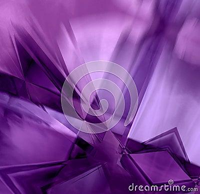 Free Purple Prism Crystals Stock Photos - 5182113
