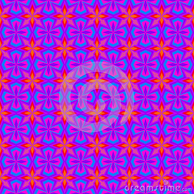 Purple Retro Wallpaper Pattern