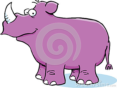 Purple Rhinoceros