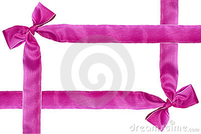 Purple ribbon.