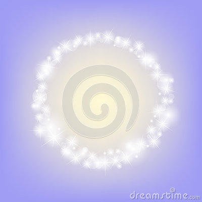 Free Purple Romantic Abstract Sparkling Circle Frame Background Royalty Free Stock Images - 84647899