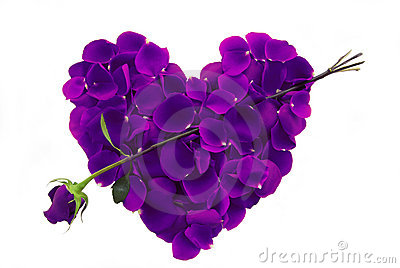 Purple%20Rose%20Petal%20Heart%20with%20arrow