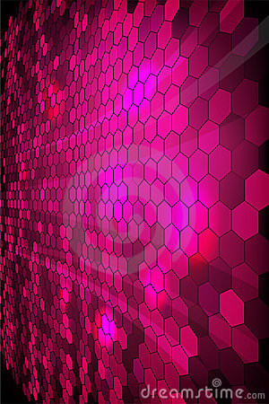 Purple shiny mosaic  background