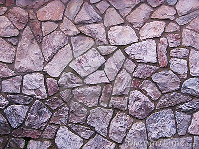 Purple slate stone wall background