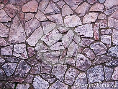 Purple slate stone wall background