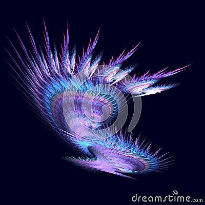 Purple Spikey