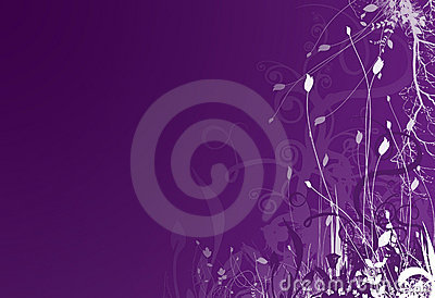 Purple spring background 2