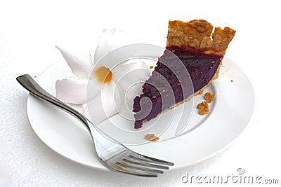 purple sweet potato taro pie stock photo image 61308236