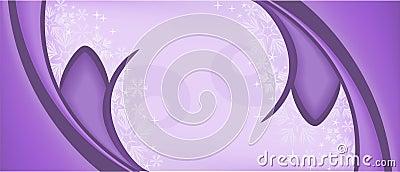 Purple symmetric background