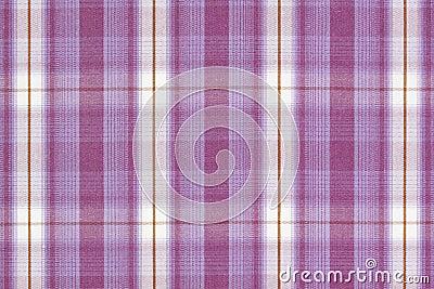 Purple tartan.
