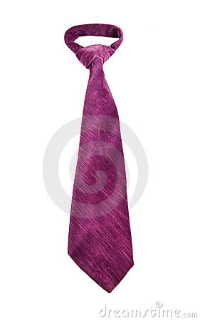 Free Purple Tie Royalty Free Stock Image - 12596576