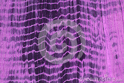 Purple tie dye