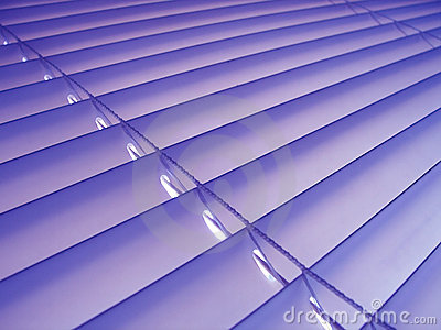 Purple Venetian Blinds