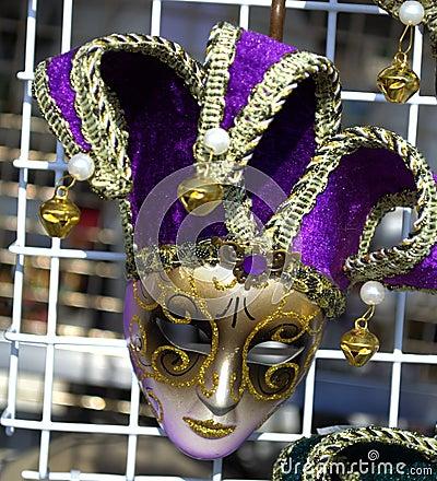 Purple Venice Mask Stock Photo - Image: 50321642 - photo#16