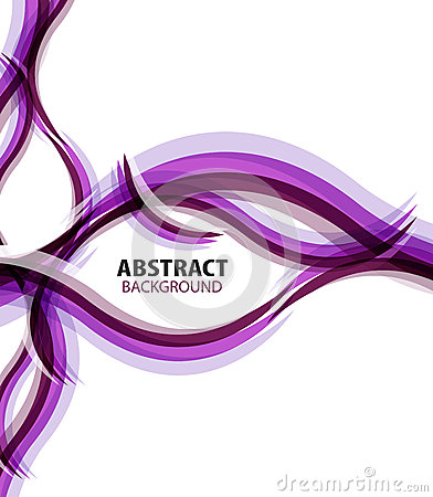 Purple waves modern business abstract background