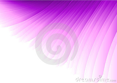 Purple Wing Abstract Vector