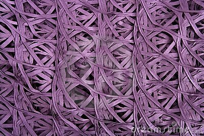 Purple wired fabric texture like spider messy net