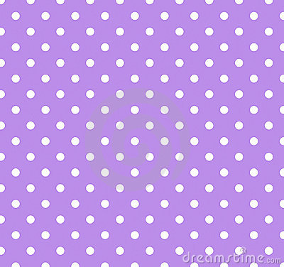 Free Purple With White Polka Dots Stock Images - 4561224
