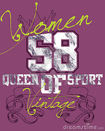 Purple women sports design