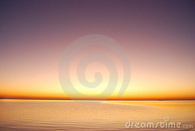 Purpur soluppgång