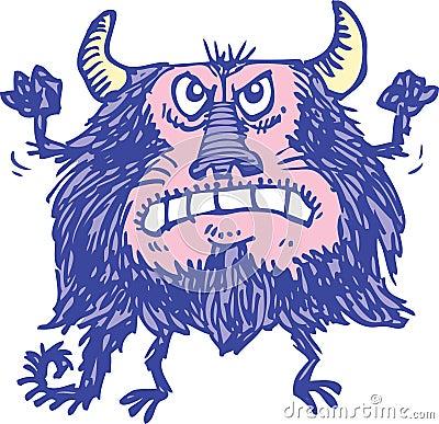 Purpurrotes Monster