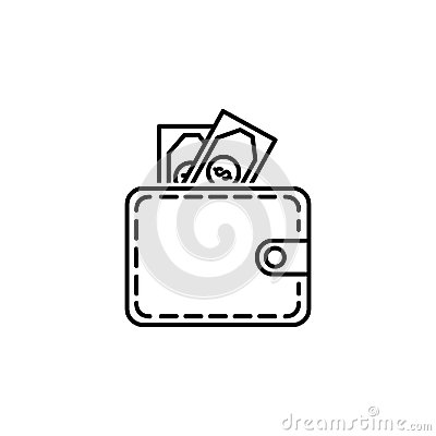 Free Purse Money Icon.Element Of Popular Finance Icon. Premium Quality Graphic Design. Signs, Symbols Collection Icon For Websites, Web Royalty Free Stock Image - 114879126