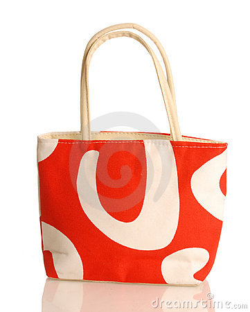 Free Purse Or Beach Bag Royalty Free Stock Photo - 8598735
