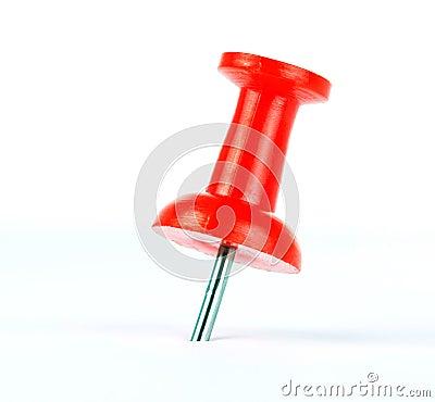 Free Push Pin Royalty Free Stock Photo - 18643345