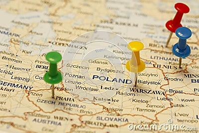 Push Pin In Poland